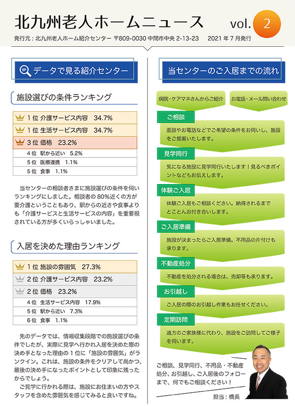北九州老人ホームニュースvol.2表